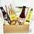 Cesta gourmet cerveja artesanal + pesticos - Imagem 1