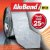 Manta Multiuso de Alumínio com Ráfia - AluBand RF12 Alumínio Maxi - Rolos 25m  - Imagem 1