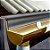 Manta Multiuso de Alumínio com Ráfia na cor Cinza - AluBand RF12 Cinza - Rolos 10m  - Imagem 2