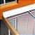 Manta Multiuso de Alumínio com Ráfia na cor Branca - AluBand RF12 Branca Mini - Rolos 5m  - Imagem 3