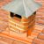 Manta Multiuso de Alumínio com Ráfia na cor Terracota - AluBand RF12 Terracota Maxi - Rolos 25m  - Imagem 3