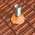 Manta Multiuso de Alumínio com Ráfia na cor Terracota - Rolos 5m - AluBand RF12 Terracota Mini - Imagem 2