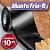 Manta Adesiva para Telhado - Manta Fria B - Manta Impermeabilizante Asfáltica para Fundações, Alicerces e Baldrame Rolos 10m - Imagem 1
