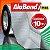 Manta Impermeabilizante Asfáltica Autoadesiva Flexível com Polietileno - AluBand PE06 Alumínio - Rolos 10m   - Imagem 1