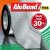 Manta Impermeabilizante Asfáltica Autoadesiva Flexível com Polietileno - AluBand PE06 Alumínio Maxi - Rolos 30m  - Imagem 1