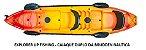 Caiaque Explorer UP Fishing -  Caiaque para 2 pessoas. Novos bancos mais resistentes e confortáveis. Preparado para motorização com Kit especifico para o modelo.      CONSULTE POSSÍVEIS DESCONTOS NO PREÇO DE TABELA. - Imagem 3