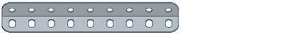 Modelix 325 - Cantoneira com 9 furos - Imagem 1