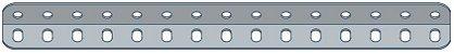 Modelix 322 - Cantoneira com 15 furos - Imagem 1