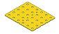 Modelix 390a - Plataforma Plastica 5x6 Amarela - Imagem 1
