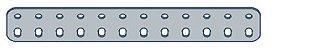 Modelix 403 - Barra de 2 Fileiras 12 furos - Imagem 1