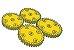 Modelix 241 - Conjunto de Engrenagem 36 Dentes - Imagem 1