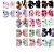 Laço infantil boutique estampas - Imagem 1