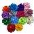 Laço infantil flor cetim - Imagem 1