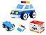 Carrinho de madeira - Carro de polícia desmontável - Tooky Toy - Imagem 1