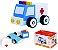 Carrinho de madeira - Ambulância desmontável - Tooky Toy - Imagem 2