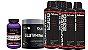 Kit 5xL-Carnitina2300 960ml+creatina 300g ult.+glutamina 300 - Imagem 1