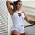 Macaquinho Modelador Empina Bumbum Branco - Imagem 2