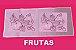 Passadeira Flores e Frutas 140x50cm (escolha o desenho) - Imagem 2
