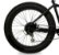 Roda Traseira aro 26 Fat Bike Completa - Imagem 1
