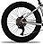 Roda Traseira aro 26 Fat Bike Completa com cubo  K7 Cassete - Imagem 1