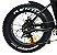 Roda traseira aro 20 e motor Fat Bike Elétrica Eco Zone - Imagem 1