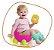 Troninho Infantil 2 Em 1 Learn Style Azul - Imagem 2