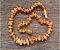 Tornozeleira de âmbar para adulto arredondado mel não polido - 25cm - Imagem 2