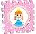 Tapete EVA Princesas - Imagem 4