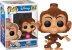 Funko Pop Disney Aladim Abu Flocked Exclusivo #353 - Imagem 1