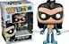 Funko Pop Teen Titans Go Robin with Baby Exclusivo #599 - Imagem 1