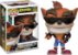 Funko Pop Crash Bandicoot Biker Outfit Exclusivo #275 - Imagem 1