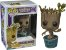 Funko Pop Marvel Guardiões da Galaxia Dancing Groot Exclusivo #65 - Imagem 1