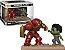Funko Pop Marvel Movie Moments Hulkbuster vs Hulk Nycc 18 #394 - Imagem 1