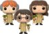 Funko Pop Harry Potter, Ron Weasley e Hermione Granger Herbology 3 Pack Exclusivo - Imagem 2