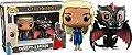Funko Pop Game of Thrones Daenerys e Drogo Metálico Pack Exclusivo - Imagem 1