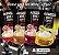 Whey Coffe - Café proteico 4 SABORES 15g de proteina de whey protein com BCAA e Glutamina - All Protein 25 unidades de 25g - 625g - Imagem 2