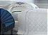 Jogo de Cama Queen - Camões Branco com Bordado Azul - Buddemeyer Luxus - Imagem 2