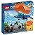 Lego City - Sky Police Parachute Arrest - Original Lego - Imagem 1