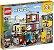 Lego Creator - Townhouse Pet Shop & Cafe - Original Lego - Imagem 1