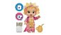 BABY ALIVE DINO CUTIES LOIRA F0933 - Imagem 2