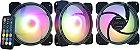 KIT 03 FAN GAMING MASTER 120MM RGB AK-AAE1 - Imagem 1