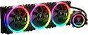WATERCOOLER GAMDIAS 360MM RGB CHIONE P1A-360R - Imagem 1