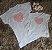 T Shirt Coração Rosa Mãe e Filha  - Imagem 2