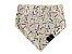 Bandana Dupla Face com Elástico Ossinho Terra - PetFellice - Imagem 1