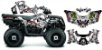 Kit Gráfico Polaris Sportsman 570 - Metal Mulisha  - Imagem 1