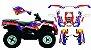 Kit Gráfico Can-am Outlander 400 2010 até 2014 - Redbull - Imagem 1