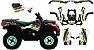 Kit Gráfico Can-am Outlander 400 2010 até 2014 - BRP Racing - Imagem 1
