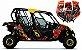 Kit Gráfico UTV Can-am Maverick 1000r X Rs Dp - Rockstar  - Imagem 1