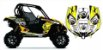 Kit Gráfico UTV Can-am Maverick 1000 - BRP Racing - Imagem 1