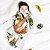 Pijama macacão em suedine natural - estampa bicho preguiça - manga longa - Imagem 3